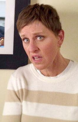 Ellen DeGeneres Goes Brunette