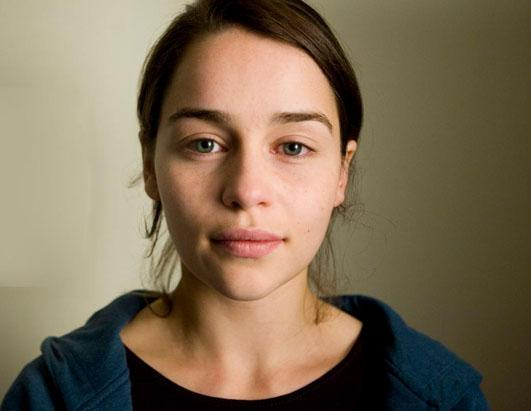Emilia Clarke Shares a Stripped Down Look