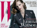 Racy Magazine Covers: Emma Watson Goes Pantsless for W and more