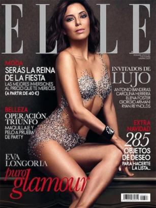 Eva Longoria on the Cover of Elle Spain