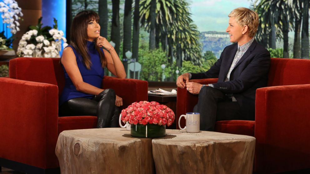 "PHOTO: Actress Eva Longoria makes an appearance on ""The Ellen DeGeneres Show"" on April 14, 2014."