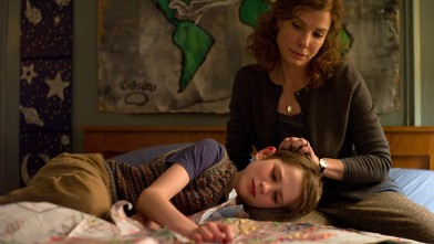 "PHOTO: Sandra Bullock as Linda Schell and Thomas Horn as Oskar Schell in ""Extremely Loud and Incredibly Close""."