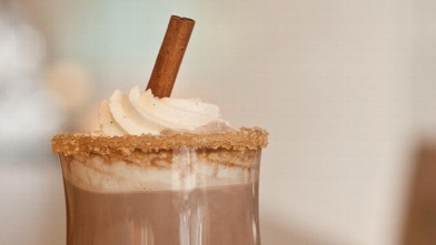 PHOTO: The Fairmont Pittsburg's spiced hot chocolate is shown here.