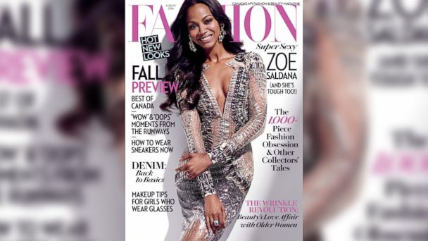 ht fashion magazine august 2014 zoe saldana jc 140709 16x9 608 Zoe Saldana on Why She Married Marco Perago