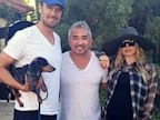 PHOTO: Fergie, Josh Duhamel and Cesar Milan