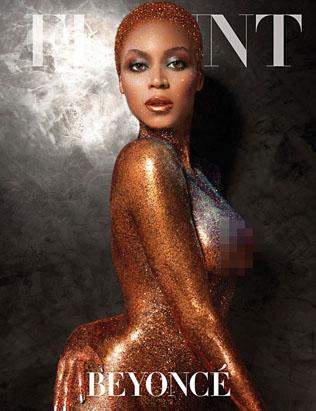 Beyonce Flaunts Naked Body