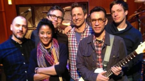 ht fred armisen sr 140210 16x9 608 SNL Alum Fred Armisen to Lead Seth Meyers New Late Night Band