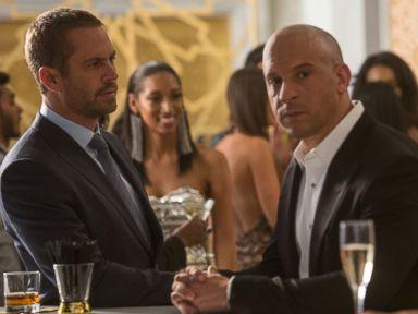 PHOTO: Paul Walker and Vin Diesel appear in Furious 7.