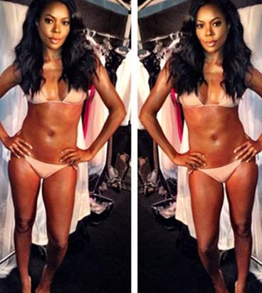 Gabrielle Union Flaunts Hot Bikini Body