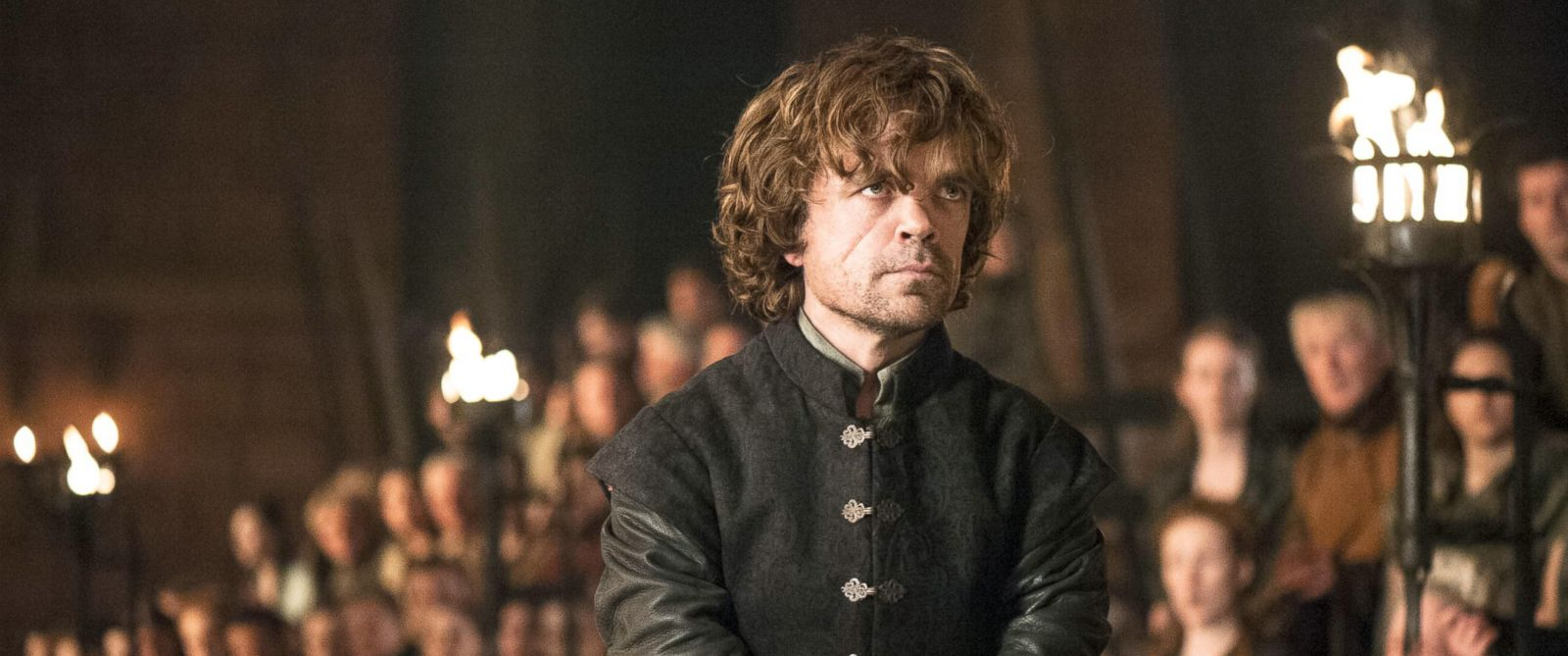 "PHOTO: Peter Dinklage appears as Tyrion Lannister in ""Game of Thrones"" on HBO."