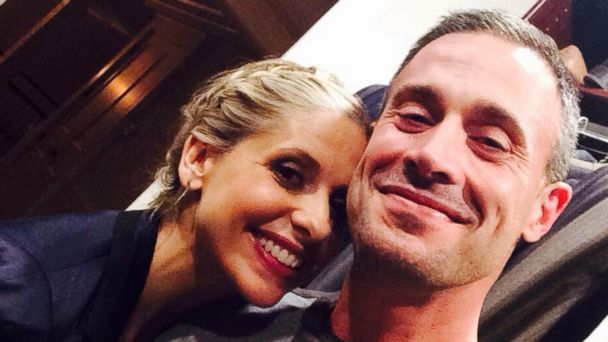 ht gellar prinze kab 140313 16x9 608 Sarah Michelle Gellar Posts Rare Selfie with Hubby