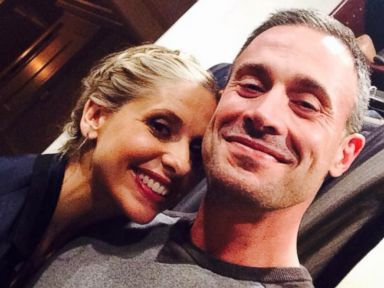 Sarah Michelle Gellar Posts Rare Selfie with Husband Freddie Prinze Jr.
