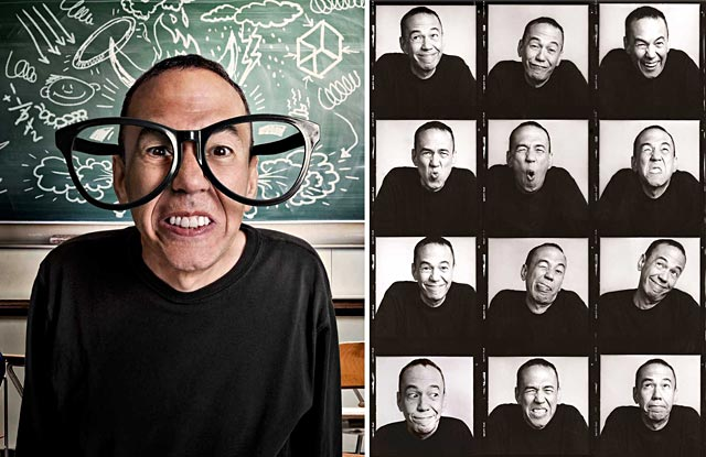 ht gilbert gottfried ll 130815 wblog 15 Minutes and Fame: Paul Mobleys Dazzling Celebrity Portraits