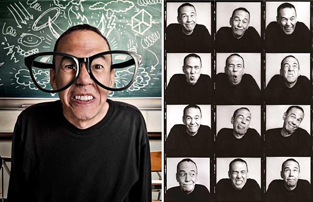 ht gilbert gottfried ll 130815 wblog 15 Minutes and Fame: Paul Mobleys Dazzling Celebrity Portraits