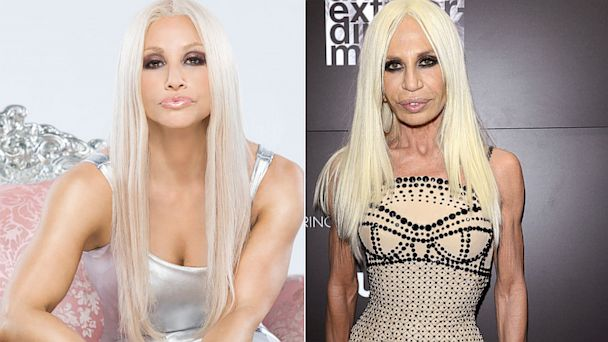 ht gina gershon donatella versace 1200 thg 130906 16x9 608 Donatella Versace Distances Herself from Lifetime Biopic