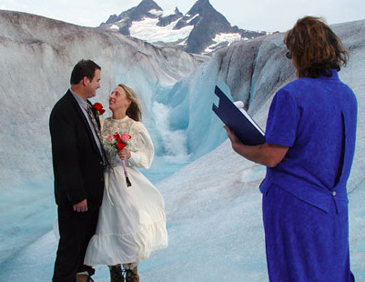 Unusual weddings Alaska