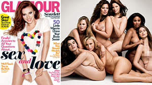 Photo: Glamour Honors Plus-Size Models In Its November Issue
