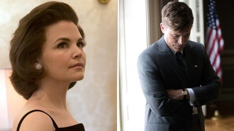 ht goodwin lowe killing kennedy jef 130613 wblog PHOTOS: Rob Lowe and Ginnifer Goodwin as JFK and Jackie Kennedy