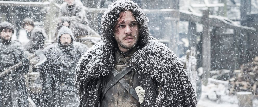 "PHOTO: Kit Harington is pictured in a still from ""Game of Thrones."""