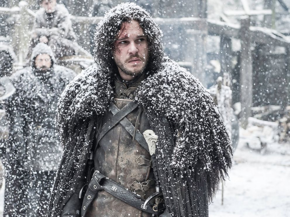 PHOTO: Kit Harington is pictured in a still from Game of Thrones.