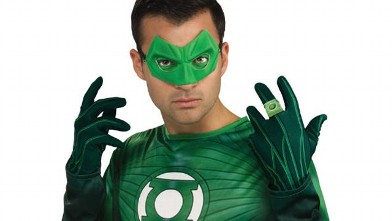 PHOTO: The Green Lantern Halloween costume.