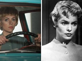 Photos: Scarlett Johansson Recreates 'Psycho'