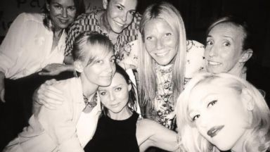 Gwyneth Paltrow Surrounds Herself With Famous Friends--Literally