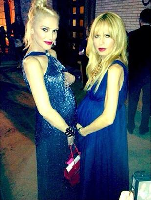 Gwen Stefani and Rachel Zoe Compare Baby Bumps