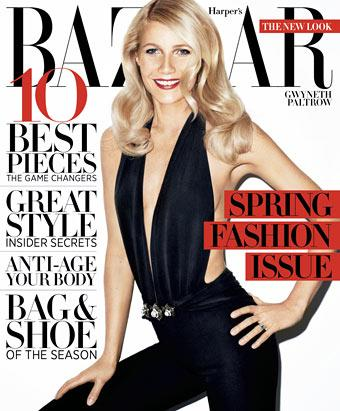 Gwyneth Paltrow In Harper's Bazaar