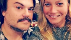 Gwyneth Paltrow Snaps a Selfie with Jack Black