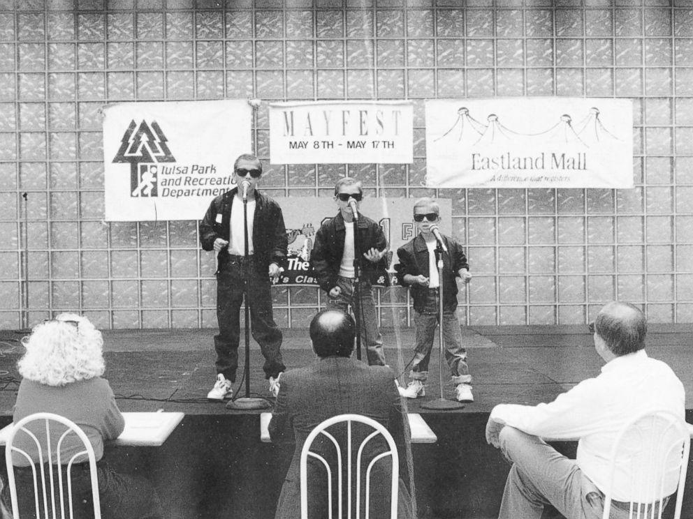 Hanson seen here performing in 1992.