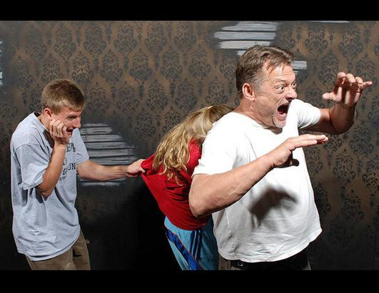 Haunted House Visitors Get Scared To Death