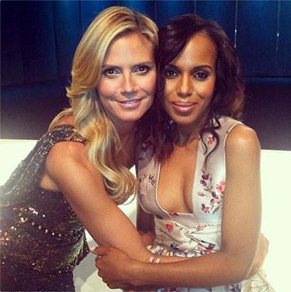Heidi Klum Shares Her Fashion Week Photos