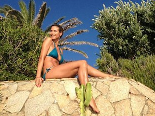 Photos: Heidi Klum, Sexy in Sardinia