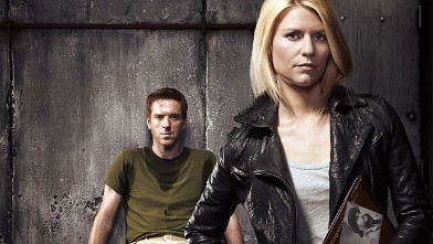 "PHOTO: Damian Lewis as Nicholas ""Nick"" Brody and Claire Danes as Carrie Mathison in Homeland."