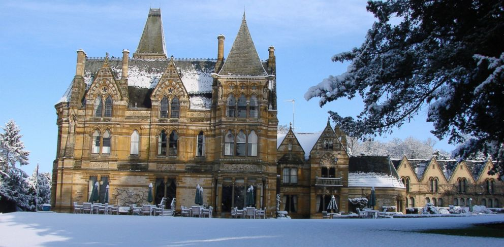 PHOTO: The Ettington Park Hotel, in Stratford-Upon-Avon, Warwickshire offered its magnificent facade to create the macabre Hill House, from The Haunting, according to the hotels website.