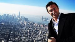 Hugh Jackman Shares a Selfie from the Empire State Building