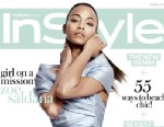 PHOTO: Zoe Saldana graces the cover of UK InStyle.