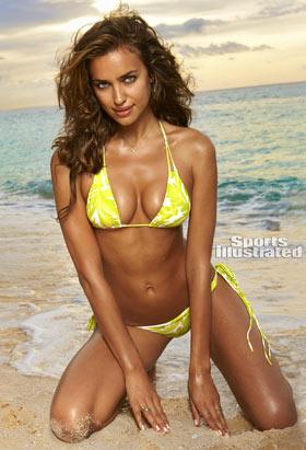 Russian Heats Up Sports Illustrated Swimsuit Cover
