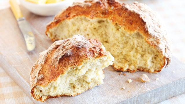 PHOTO: Rachel Allen's Irish soda bread is shown here.