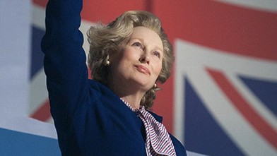 "PHOTO: Meryl Streep as Margaret Thatcher in ""The Iron Lady."""
