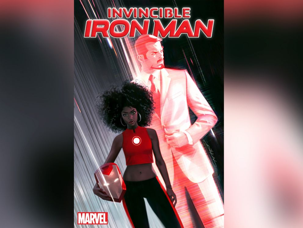 PHOTO: New Invincible Iron Man cover shows Riri Williams, who will take over for Tony Stark.