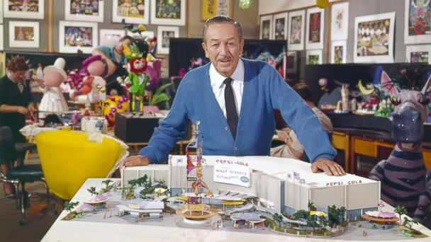 PHOTO: Walt Disney is pictured here in this undated photo.