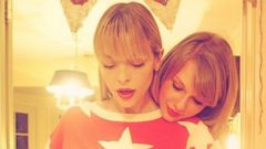 Taylor Swift Shares a Sweet Moment with Jaime King