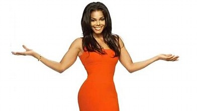 PHOTO: Janet Jackson has lost weight on the Nutrisystem weight loss program.