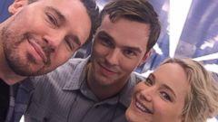 Jennifer Lawrence Reunites with Her Ex, Nicholas Hoult, for X-Men