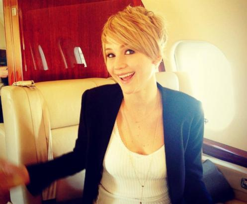 See Jennifer Lawrence's New Pixie Cut!