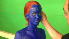PHOTO: X-Men Director tweeted this imge of Jennifer Lawrence on set with the caption, 