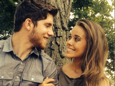 PHOTO: Jessa Duggar and Ben Seewald from TLCs 19 Kids and Counting are pictured in a photo posted to Jessa Duggars Instagram account on August 18, 2014 with the text, Time for some engagement photos!