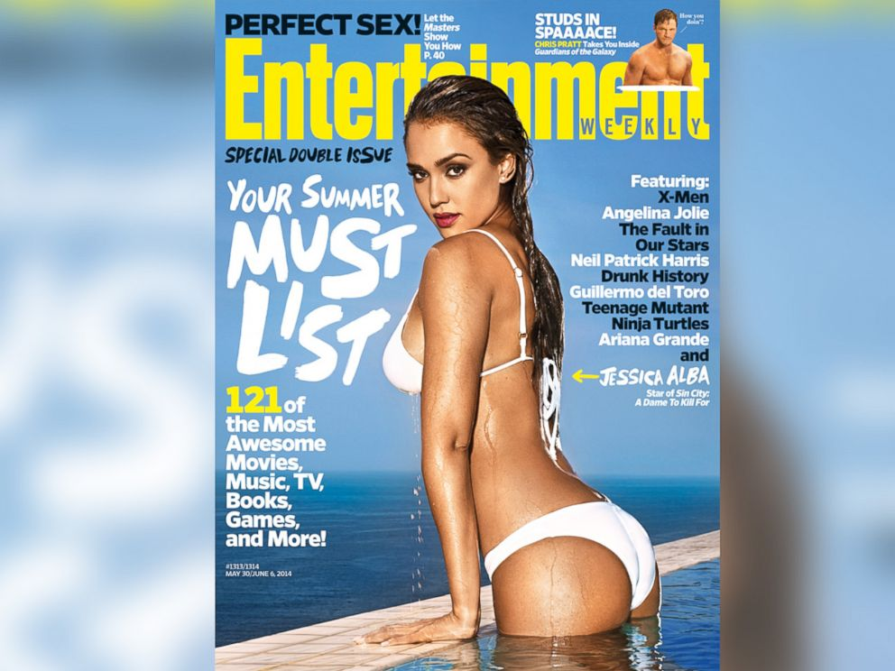 PHOTO: Jessica Alba appears on the cover of the May 30 issue of Entertainment Weekly.